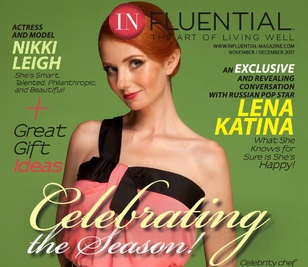 Lena appear on the cover of the «InFluential Magazine»